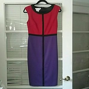 Maggy London color block dress